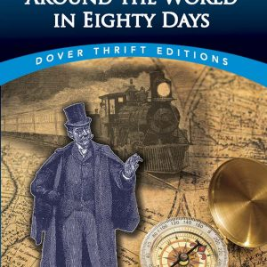 book cover image, dapper gent and a compass